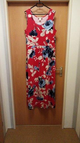 Maxi - Kleid Gr. 46 mit Taillenband