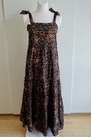Maxi-Kleid mit Blockprint