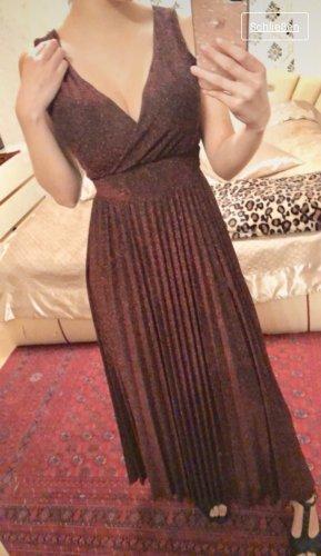 Maxi-jurk bordeaux