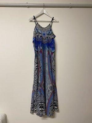 Aqua Maxi-jurk korenblauw-blauw