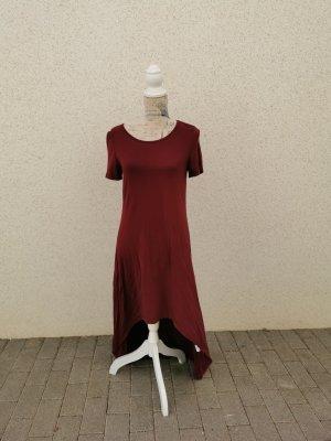 Sheinside Maxi Dress dark red