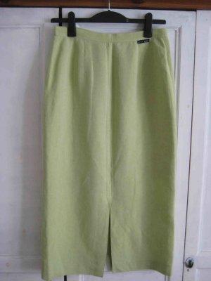 Falda de lino verde pálido Lino