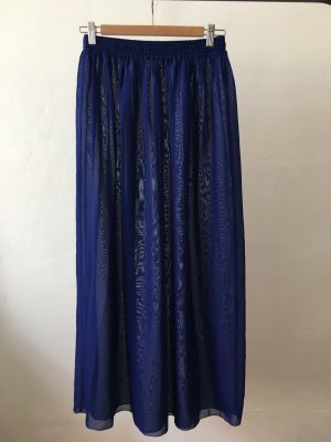 Maxi-Rock | Blau | Transparent | Urban Outfitters