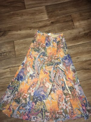Ashley Brooke Maxi Skirt multicolored nylon