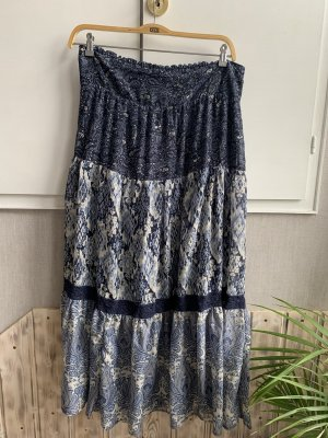 Tchibo / TCM Maxi Skirt blue-steel blue