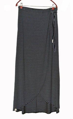 Ragwear Maxi Skirt dark blue-white