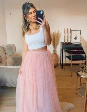 Boutique Comtesse Tiulowa spódnica jasny różowy