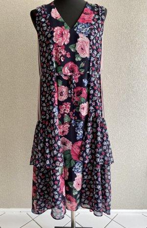 Maxi-Tunika-Kleid mit Blumendruck von  CLAUDIE PIERLOT
