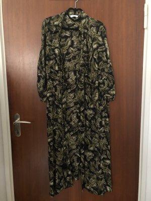 Maxidress mit Flowerprint von Zara in 38/M