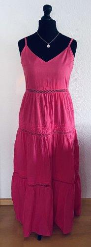 Maxikleid|100% Baumwolle|pink|L.O.G.G.