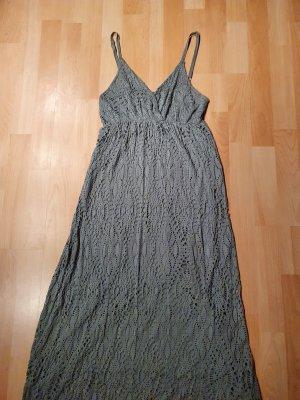 Maxi-jurk khaki