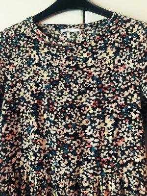 Mango Maxi abito color oro rosa-blu