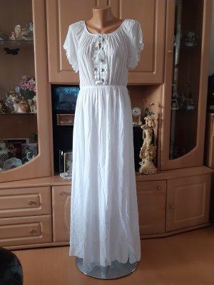 Made in Italy Maxi abito bianco