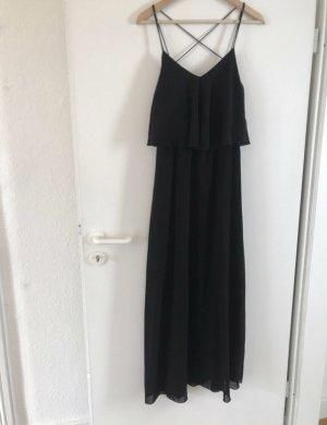 Maxikleid Abendkleid Amisu 38 M schwarz