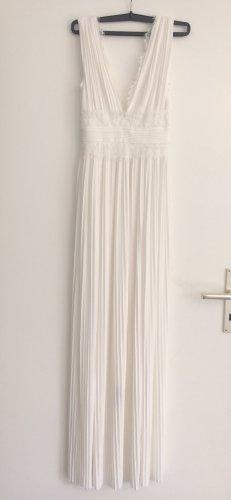 Asos Evening Dress white