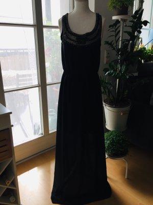 Danity Maxi Dress black-gold-colored