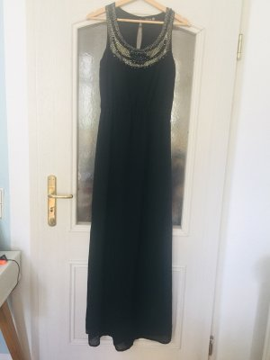 Danity Maxi Dress black-gold-colored