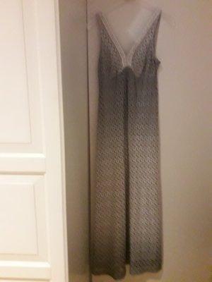 Ana Alcazar Maxi abito azzurro-grigio chiaro Tessuto misto