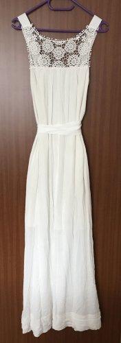 Asos Hippie Dress white viscose