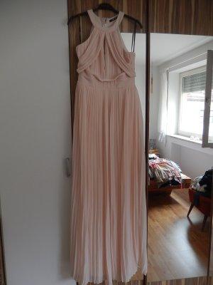 TFNC Vestido largo rosa Poliéster