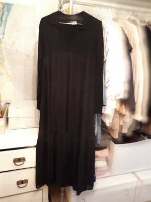 Empire Dress black mixture fibre