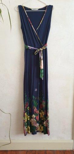 Maxikleid dunkelblau floral // Desigual