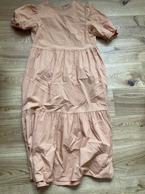 Pieces Robe longue abricot