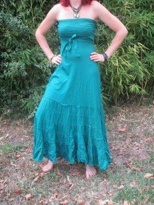 Sukienka boho morski Bawełna