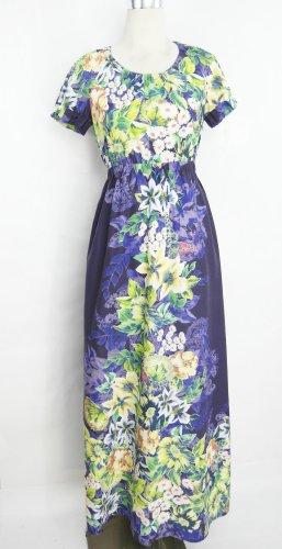 Maxikleid Gr. S Blumenkleid Kleid Baumwollkleid langes Kleid