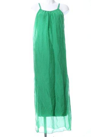 Maxi Dress green casual look
