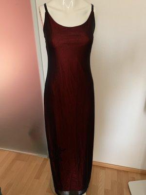 Maxikleid Kleid Chiffon von Hallhuber Gr 38 M