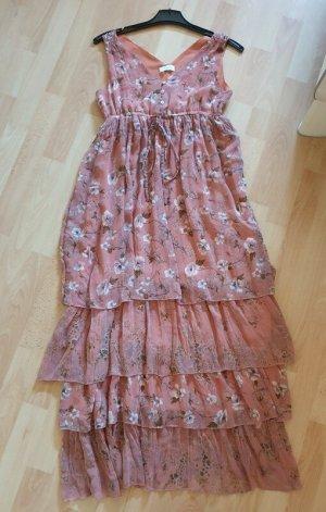 Aniston Robe longue abricot