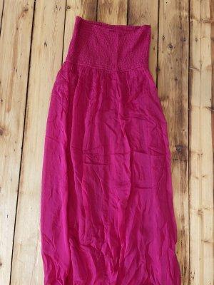 Hallhuber Maxi Dress multicolored silk