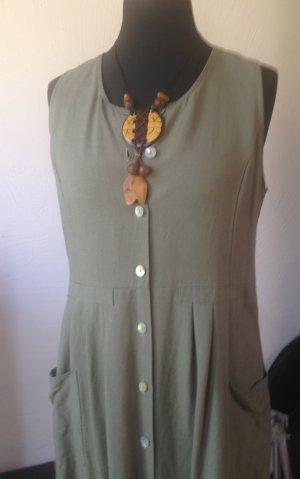 Casa Maxi Dress khaki linen