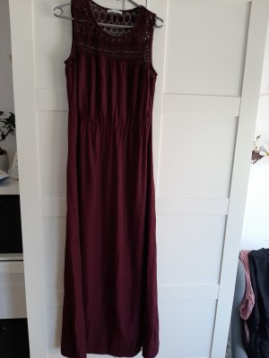 Maxikleid mint and berry