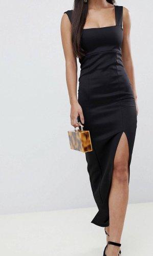 ASOS DESIGN Petite Robe longue noir