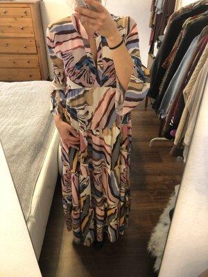 Maxikleid Oversize Kleid African Muster Onesize