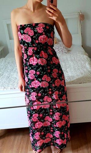 H&M Maxi Dress black-pink