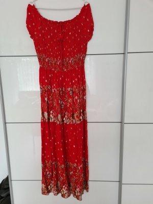 BODY FLIRT Sukienka maxi czerwony