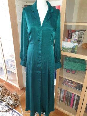 Maxikleid Satinkleid YAS Blusenkleid Gr. M € 80 Kleid