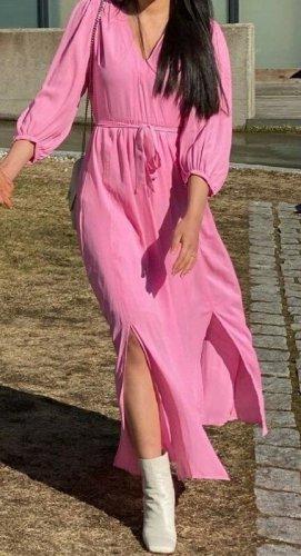 Maxikleid Selected Femme Gr. XS NEU €90 Midikleid 3/4 arm ballonärmel Kleid