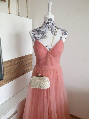 MaxiKleid Tüllkleid rose Abendkleid NP:152 € Neu mit Etikett