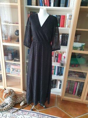 Maxikleid Vila langes Kleid Gr. 38 (M) schwarz 3/4 Arm