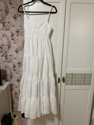 BCBG Maxazria A-lijn jurk wit Katoen