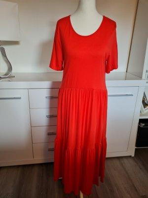 Object Sukienka maxi czerwony