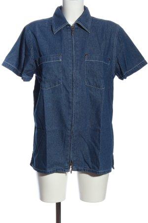 Maxime Shirt met korte mouwen blauw casual uitstraling