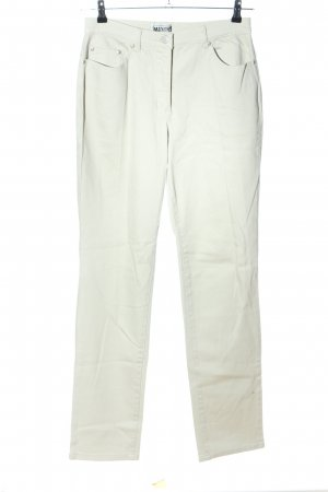 Maxime Straight-Leg Jeans weiß Casual-Look