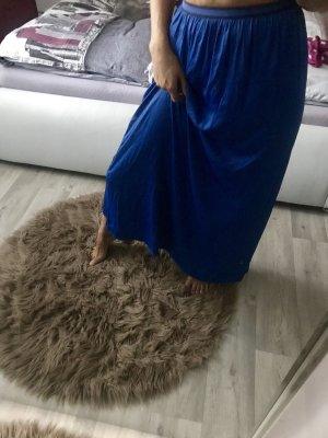 Zara Trafaluc Falda larga azul