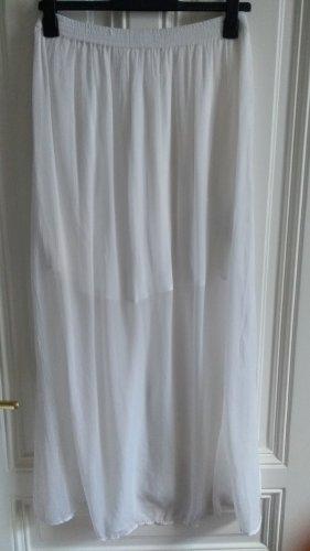 Mango Maxi Skirt white