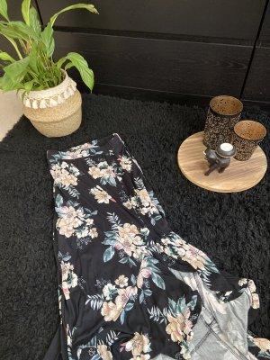 Lascana Falda larga negro